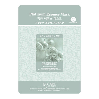 Маска тканевая с платиной Platinum Essence Mask